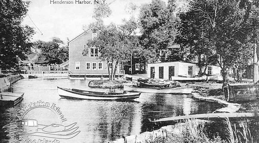 Lagoon and Boathouse, 1922
