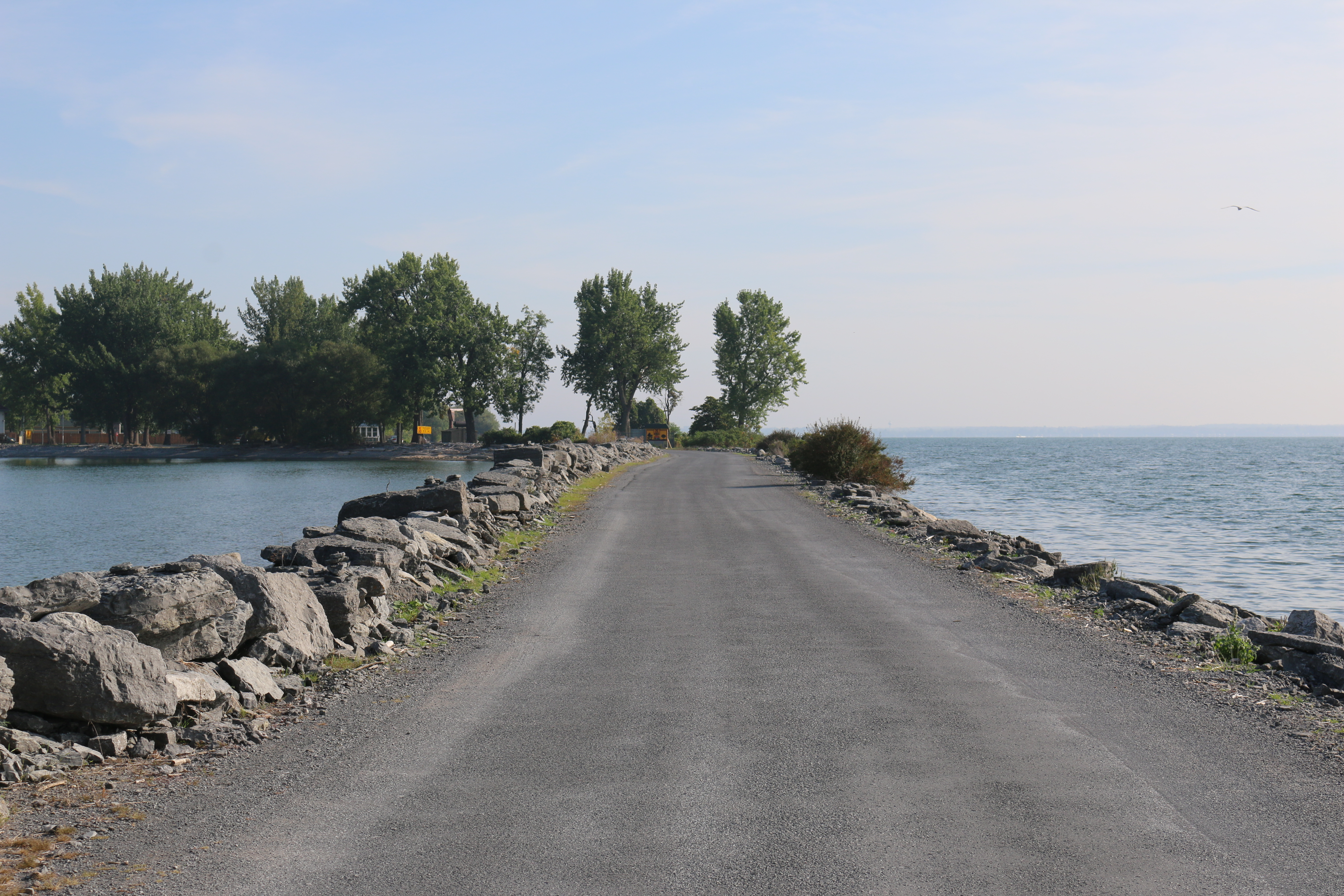 View of from the Causeway