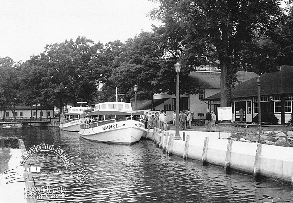 The Island Ferry Boats